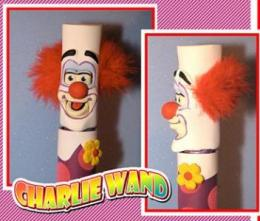 CHARLIE CLOWN animated magic wand