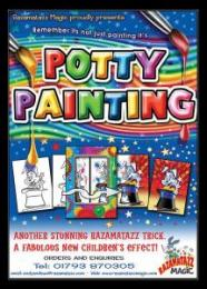 To use with the Potty Painting magic trick