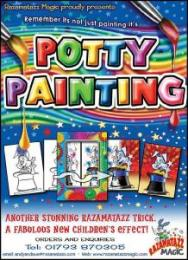 To use with Potty Painting